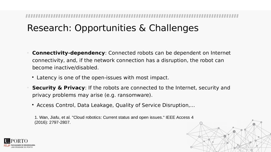 Research: Opportunities & Challenges • Connecti...