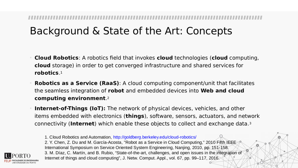 Background & State of the Art: Concepts • Cloud...