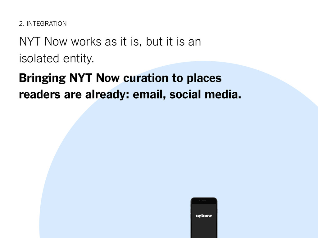 2. INTEGRATION NYT Now works as it is, but it i...