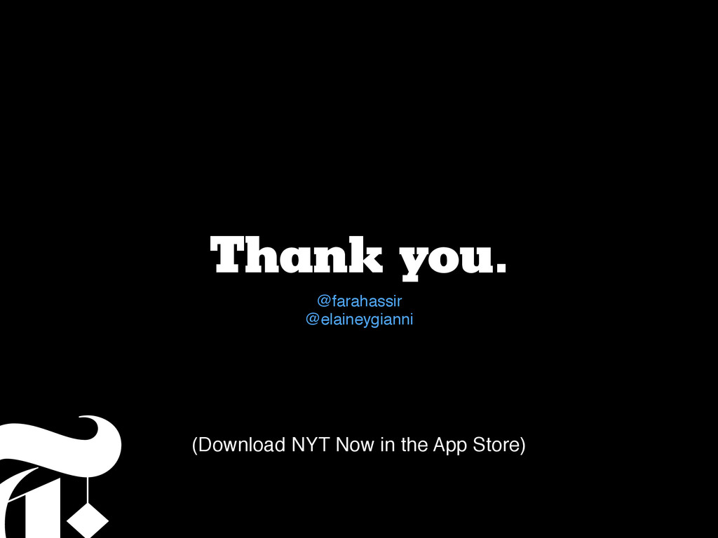 Thank you. @farahassir @elaineygianni (Download...