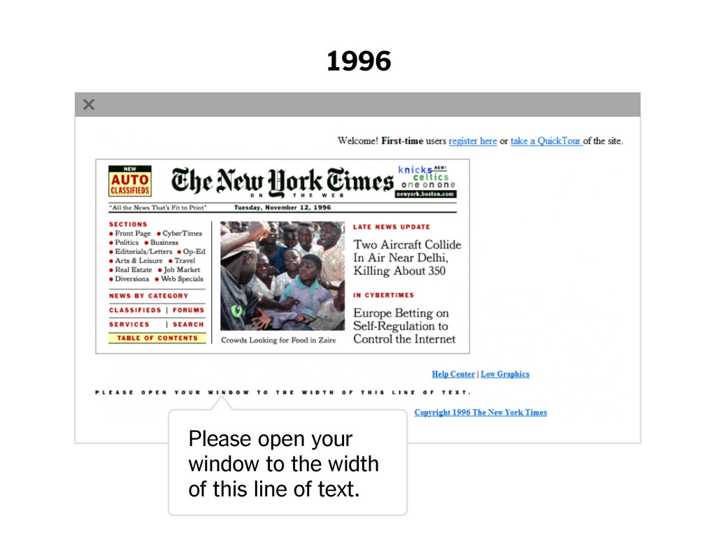 1996 www.nytimes.com Please open your window to...
