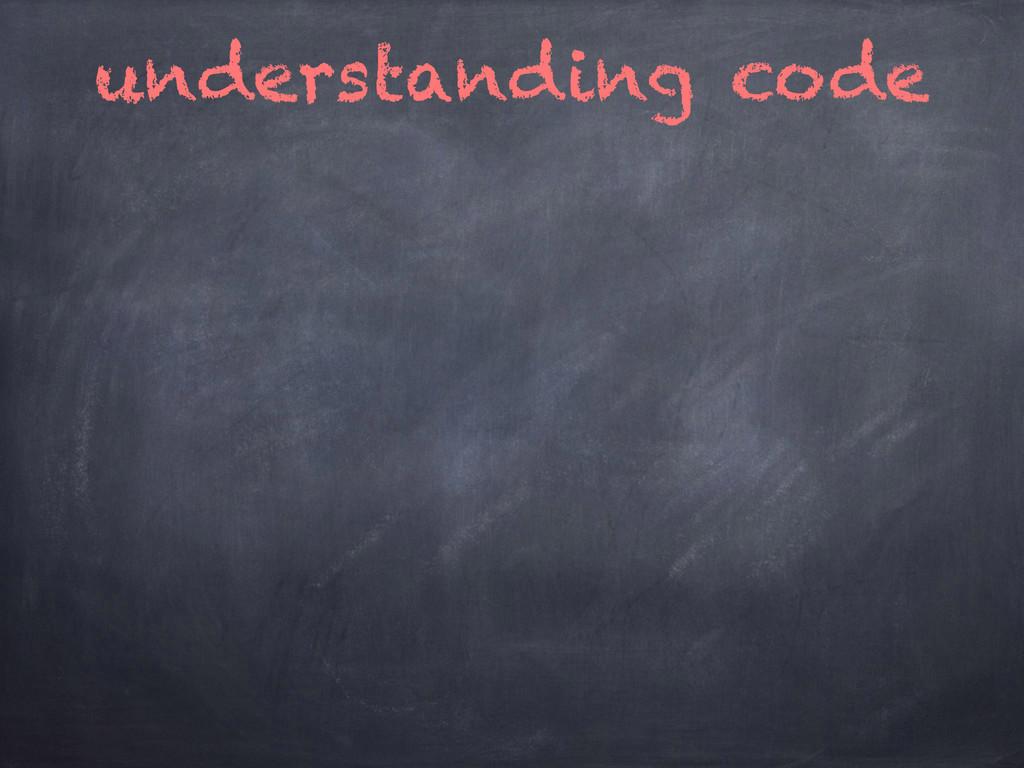 understanding code
