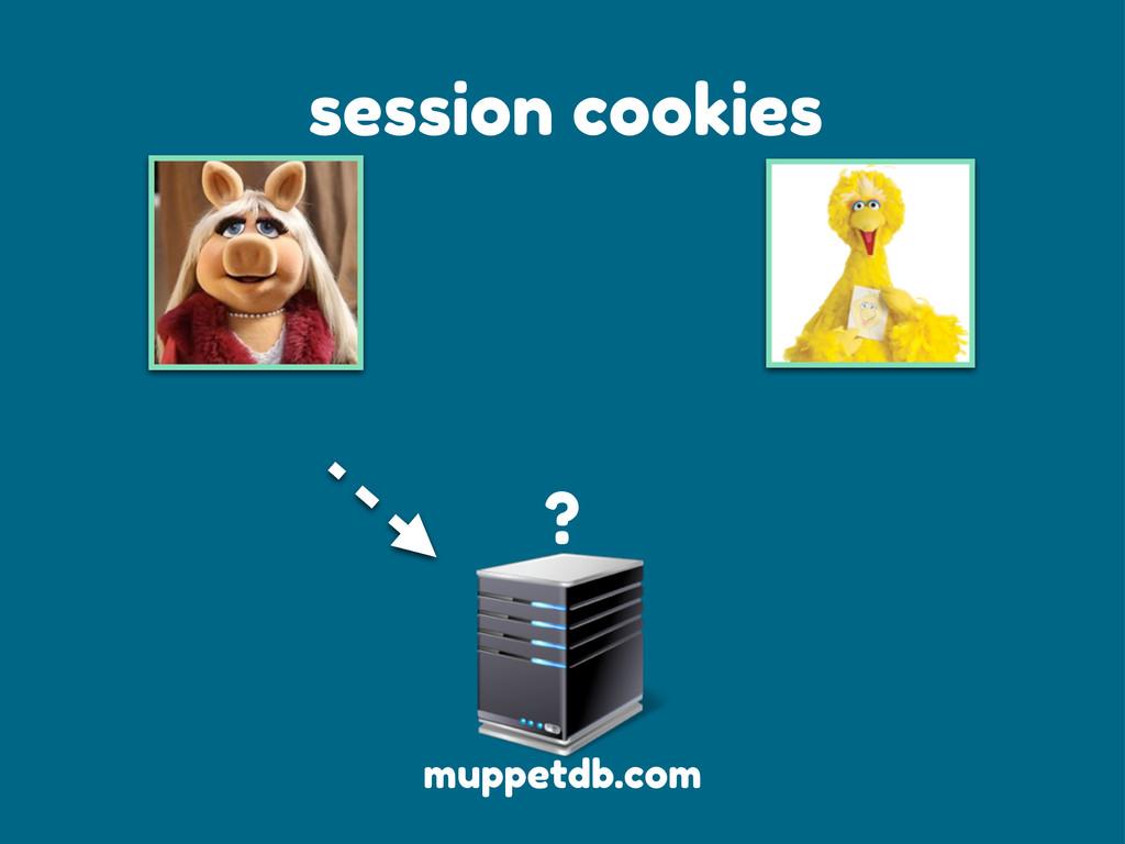 session cookies muppetdb.com ?