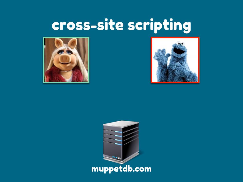 cross-site scripting muppetdb.com
