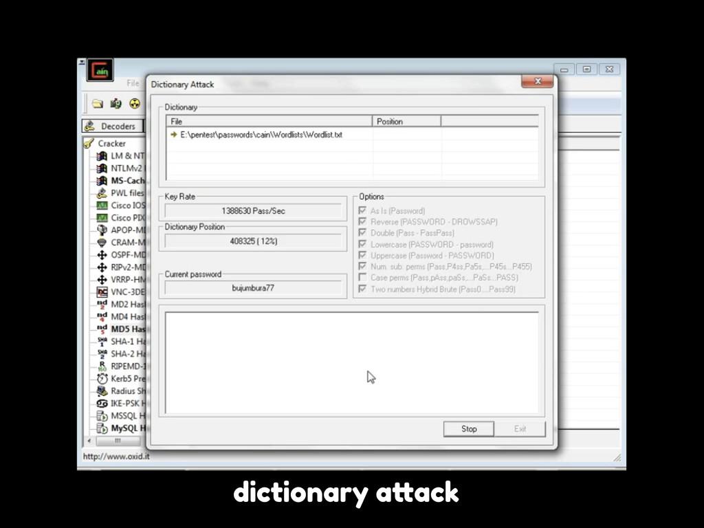 """dictionary a""""ack"""