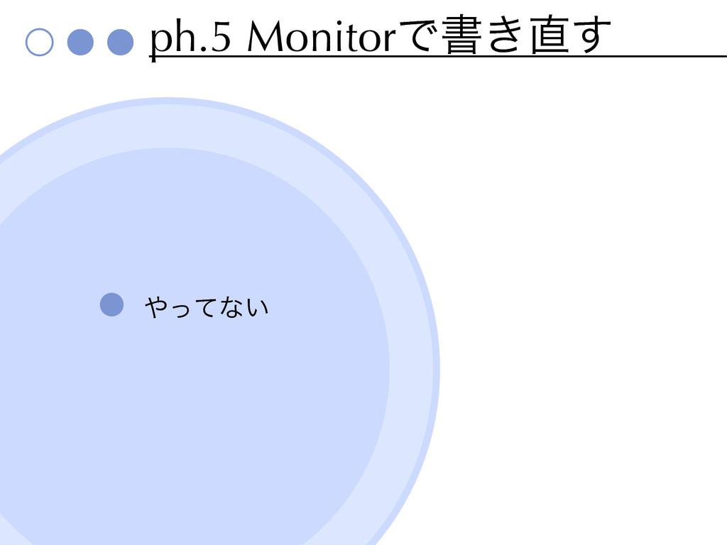 ph.5 MonitorͰॻ͖͢ ͬͯͳ͍