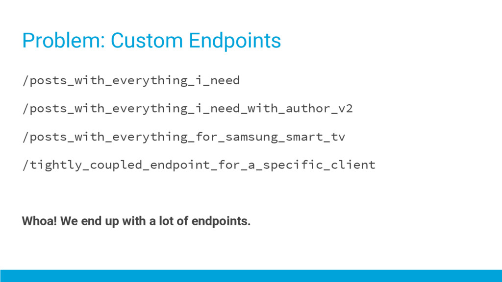 Problem: Custom Endpoints /posts_with_everythin...