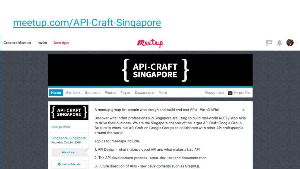 meetup.com/API-Craft-Singapore