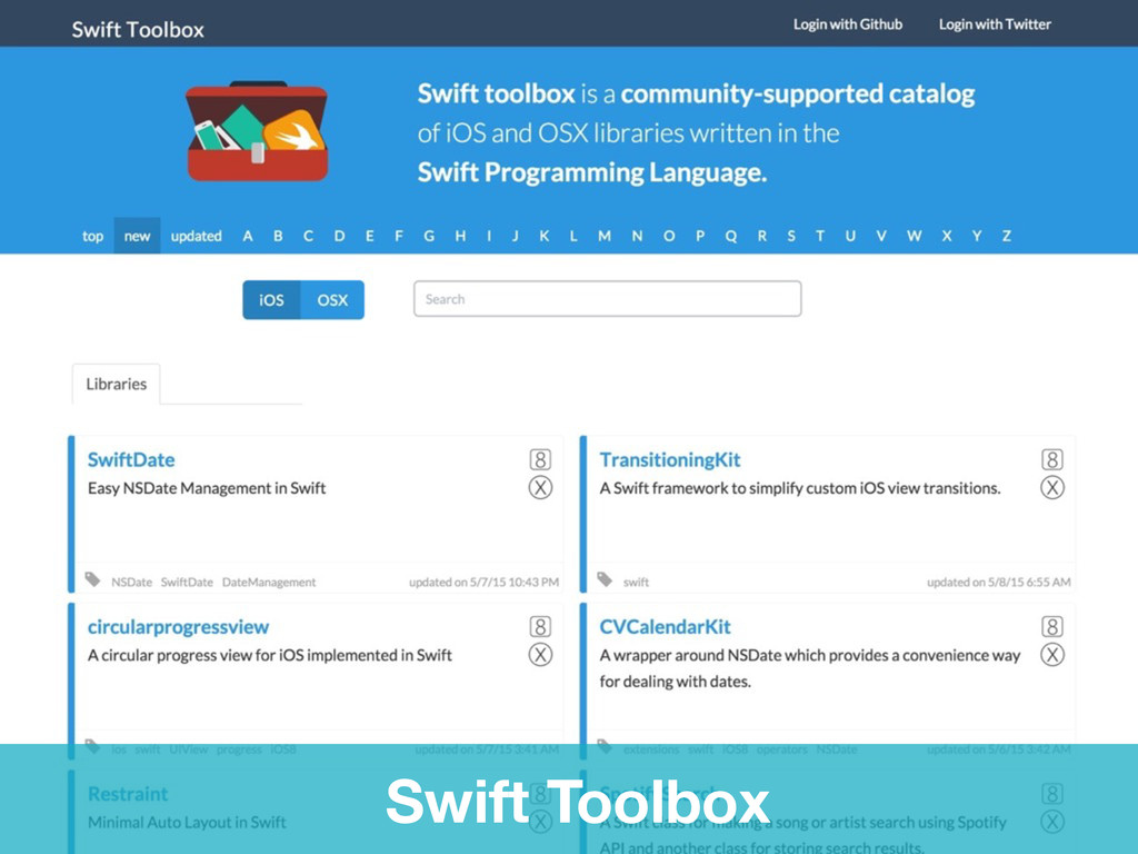 Swift Toolbox