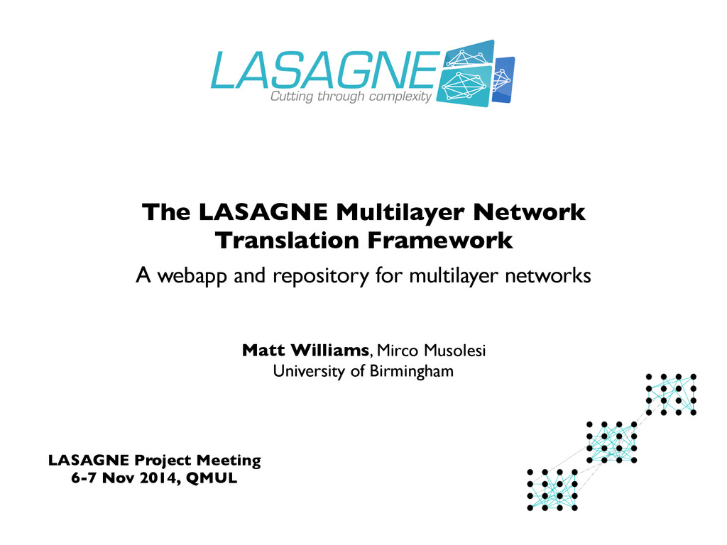 A webapp and repository for multilayer networks...