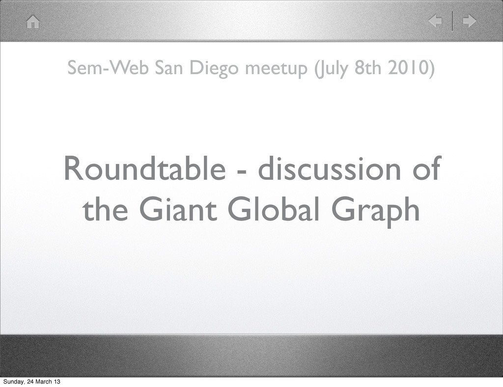 Roundtable - discussion of the Giant Global Gra...