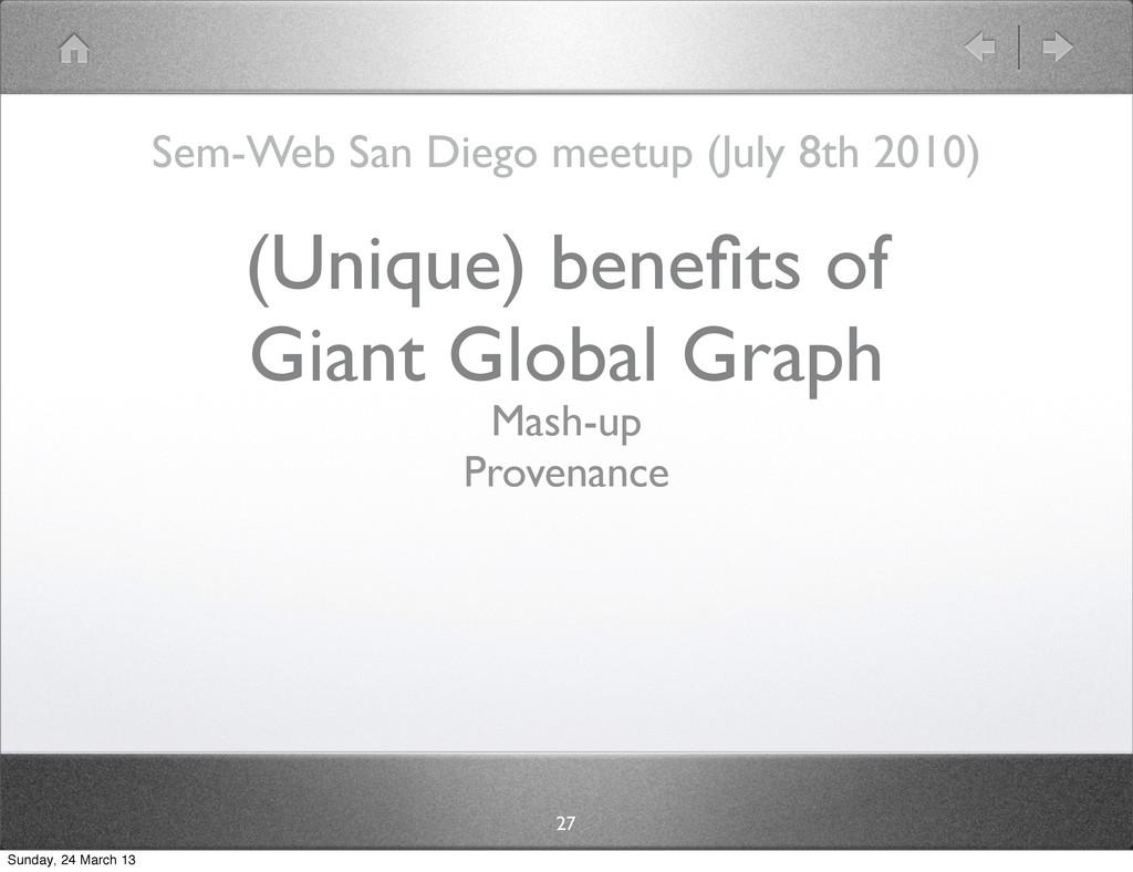Sem-Web San Diego meetup (July 8th 2010) 27 (Un...