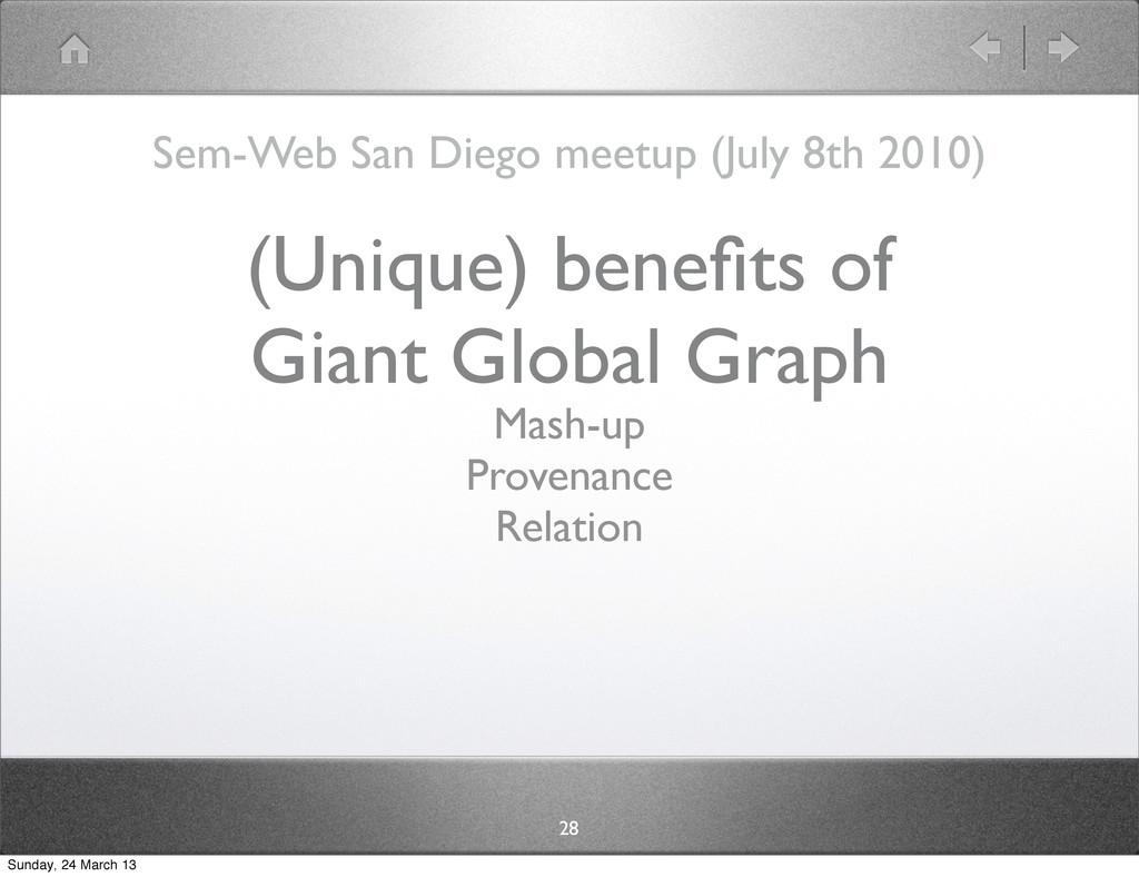 Sem-Web San Diego meetup (July 8th 2010) 28 (Un...