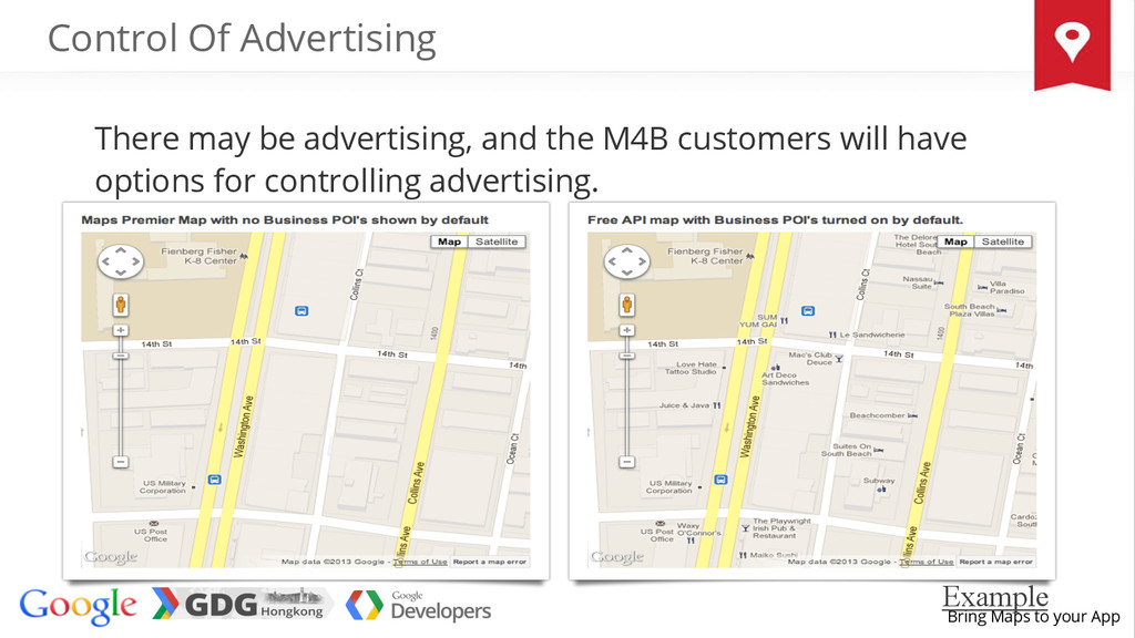 Bring Maps to your App Control Of Advertising T...