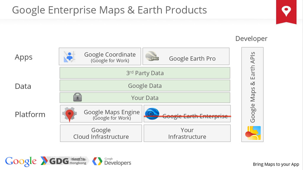Bring Maps to your App Apps Data Google Cloud I...
