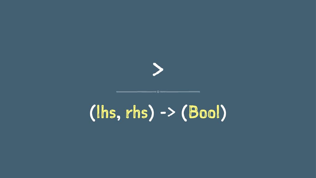 > (lhs, rhs) -> (Bool)