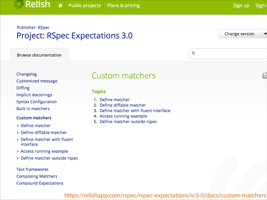 https://relishapp.com/rspec/rspec-expectations/...