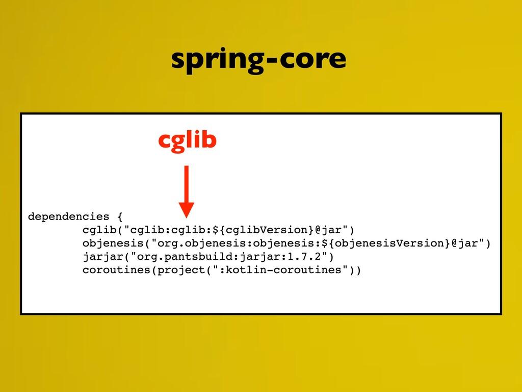 cglib spring-core