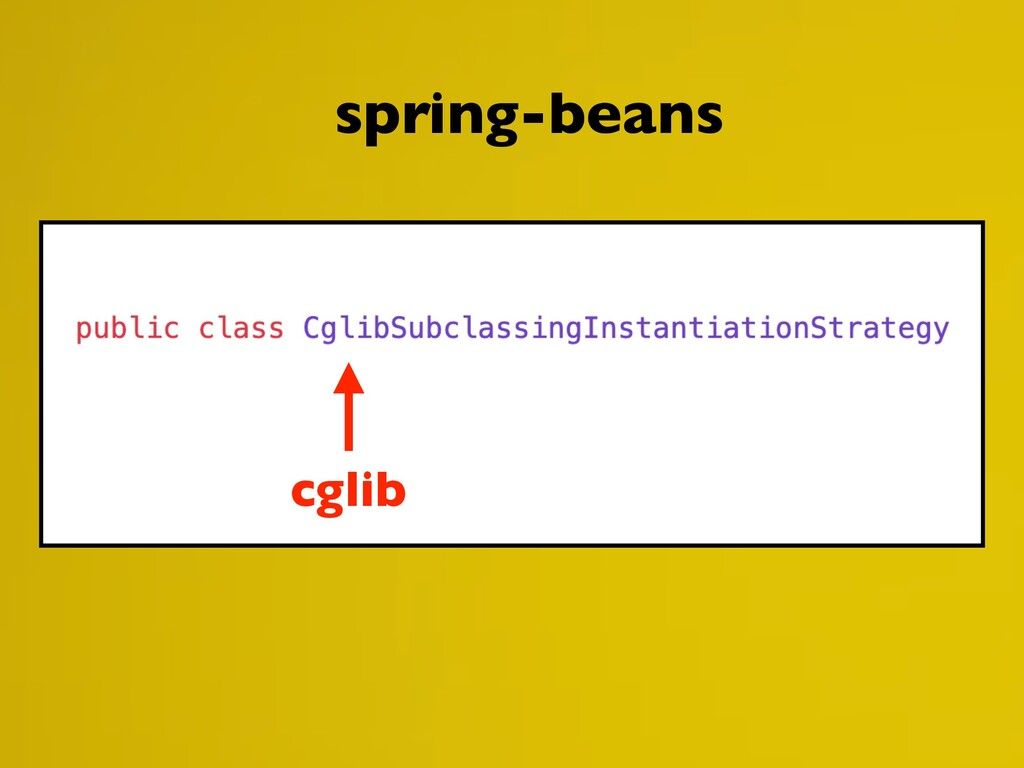 cglib spring-beans
