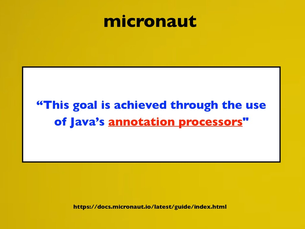 """This goal is achieved through the use of Java'..."