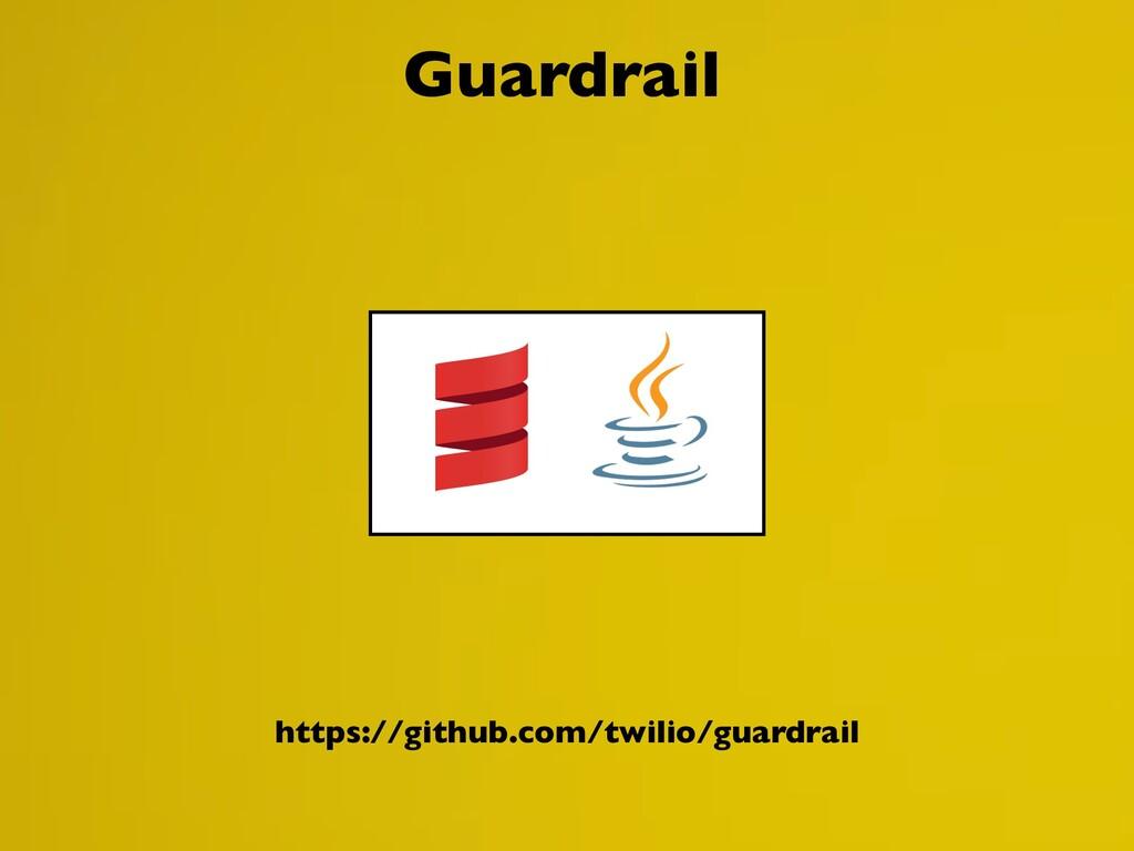 https://github.com/twilio/guardrail Guardrail