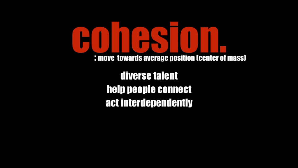 diverse talent help people connect act interdep...
