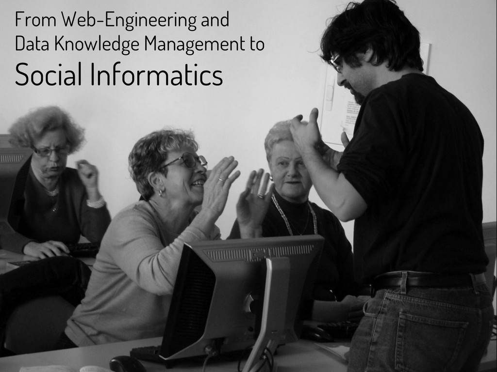 From Web-Engineering and Data Knowledge Managem...