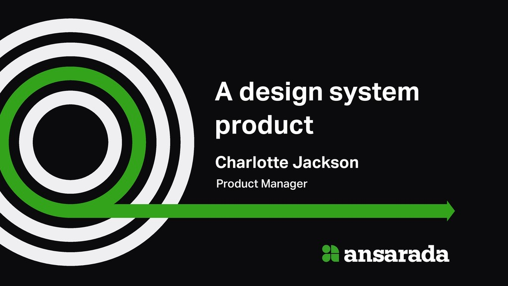 A design system product Charlotte Jackson Produ...