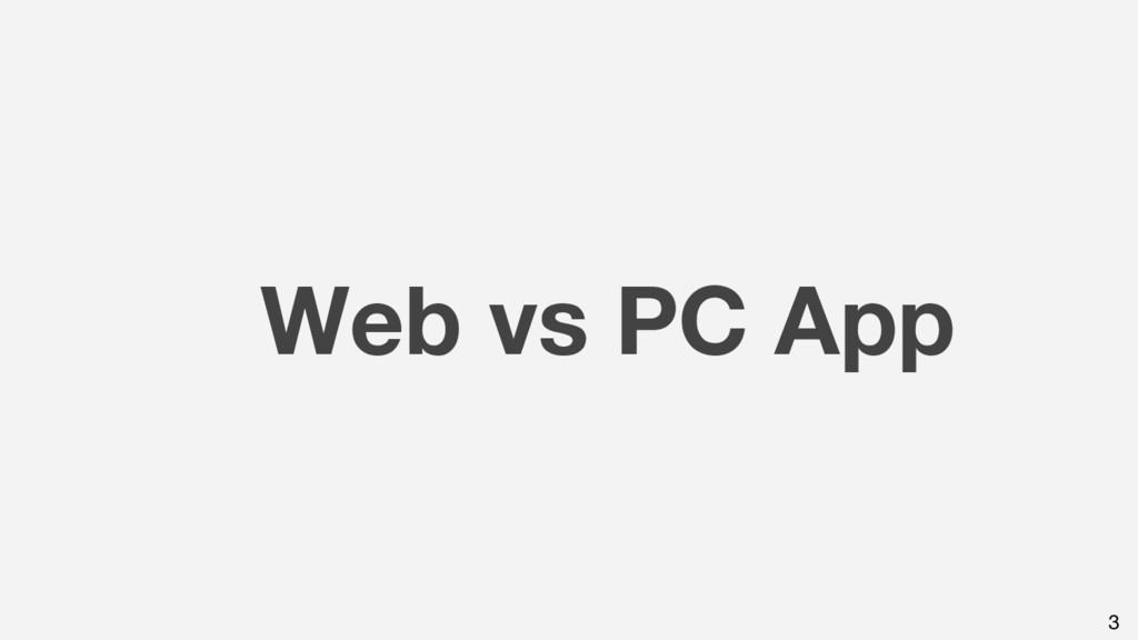 Web vs PC App 3