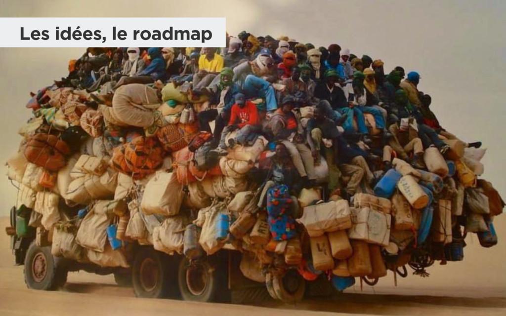 Les idées, le roadmap