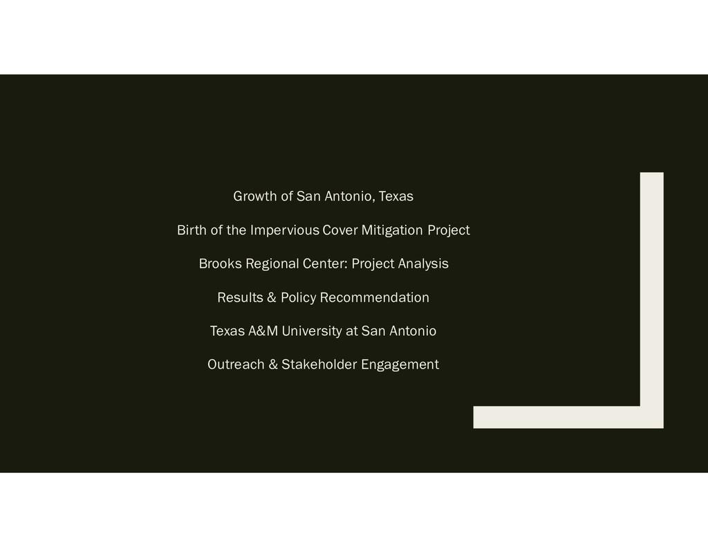 Growth of San Antonio, Texas Birth of the Imper...