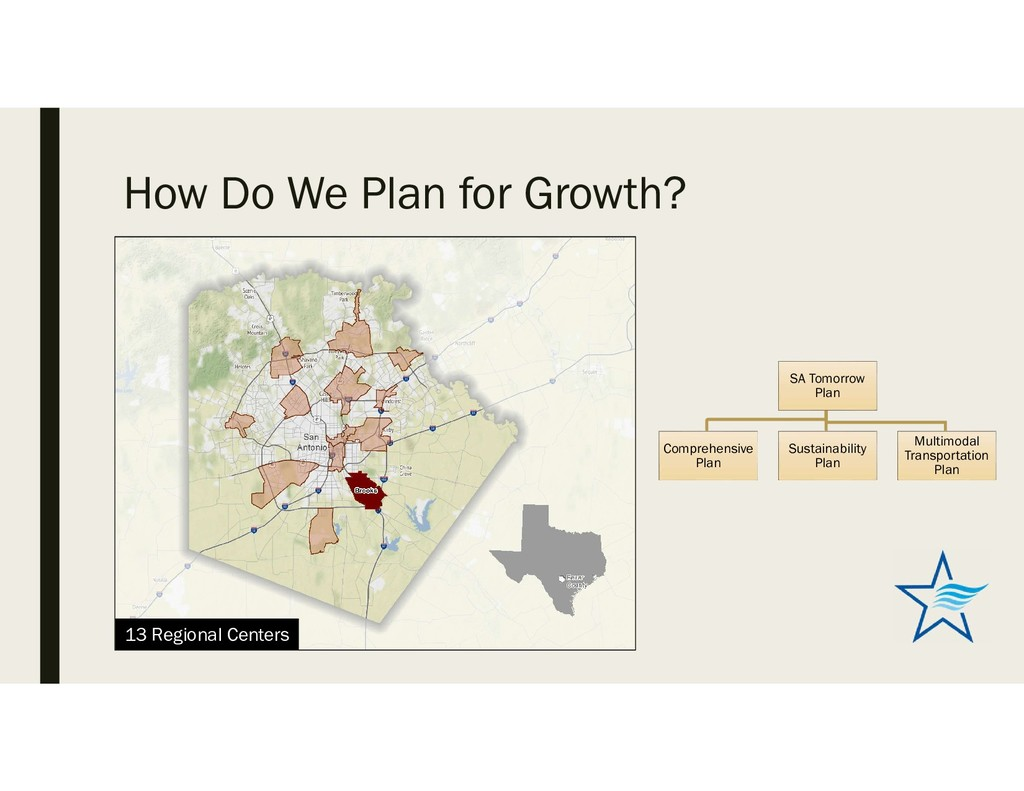 How Do We Plan for Growth? SA Tomorrow Plan Com...