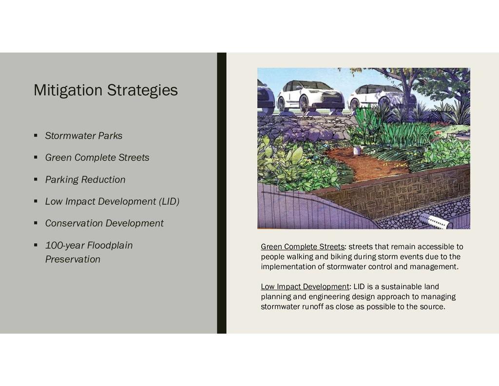 Mitigation Strategies  Stormwater Parks  Gree...