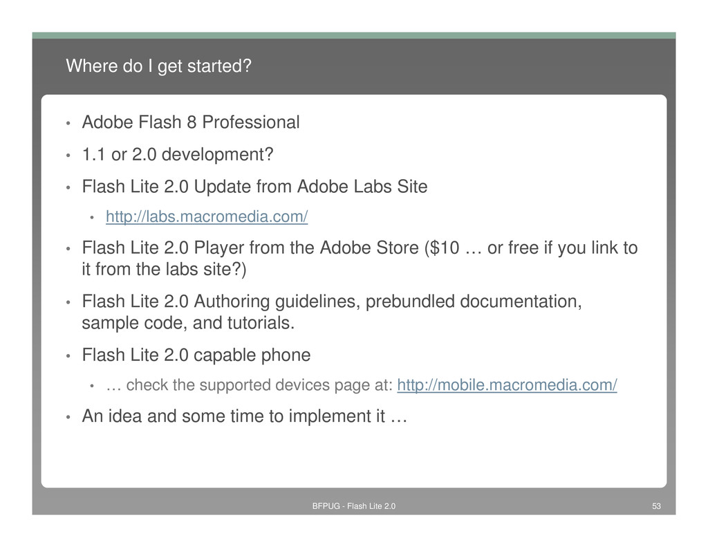 Where do I get started? • Adobe Flash 8 Profess...
