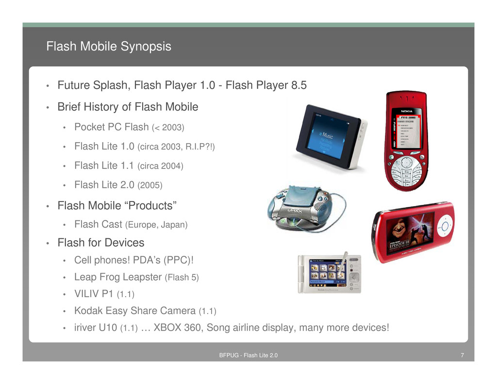 Flash Mobile Synopsis • Future Splash, Flash Pl...