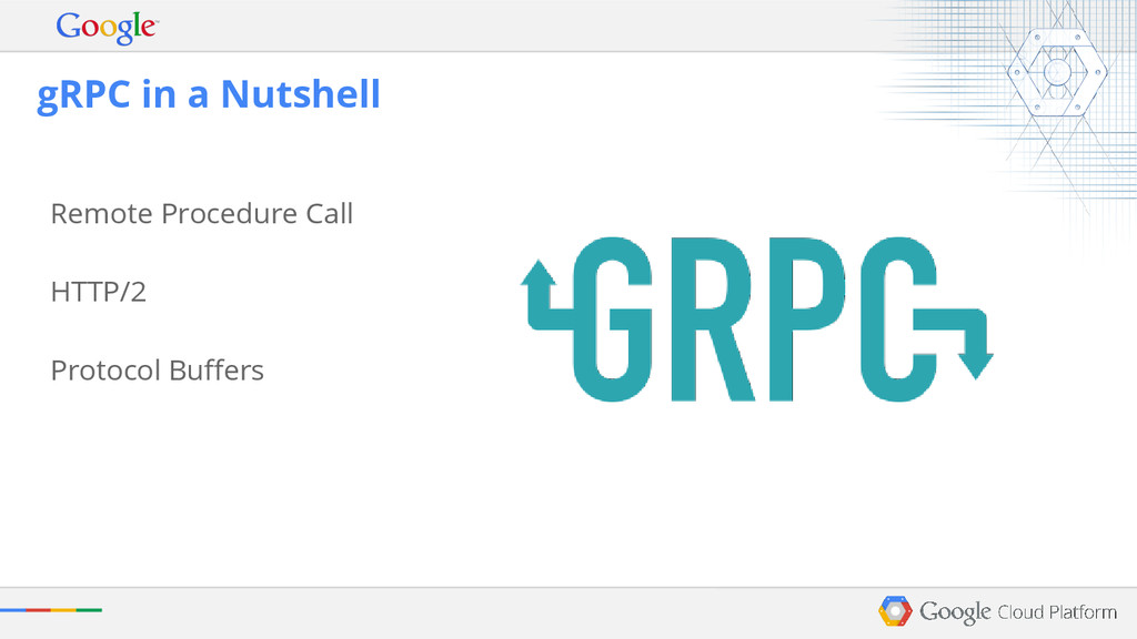 Remote Procedure Call HTTP/2 Protocol Buffers g...