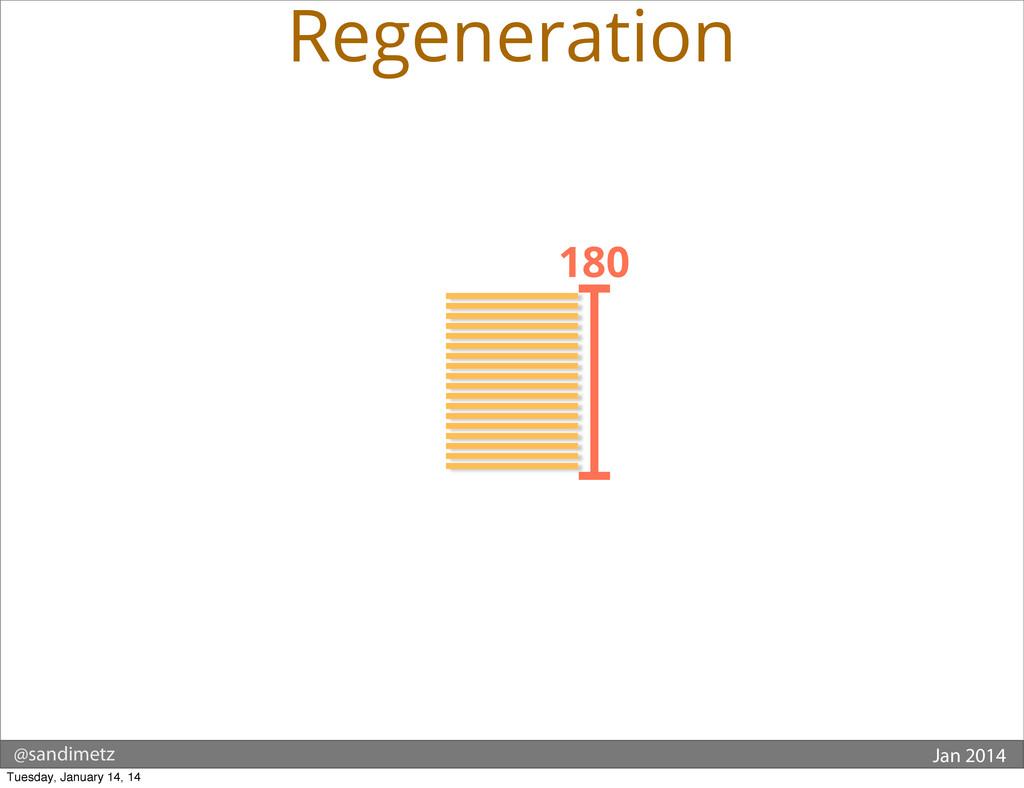 @sandimetz Jan 2014 180 Regeneration Tuesday, J...