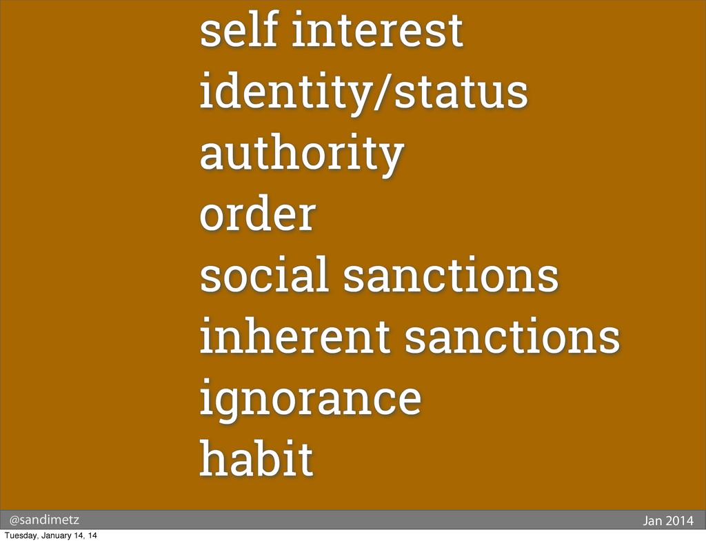 @sandimetz Jan 2014 self interest identity/stat...