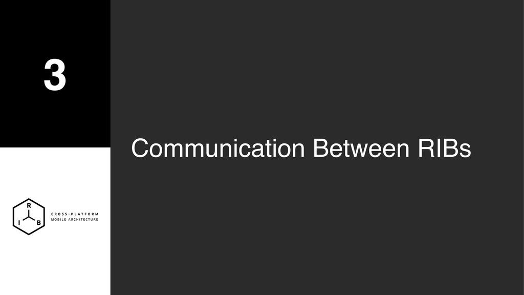 3 Communication Between RIBs
