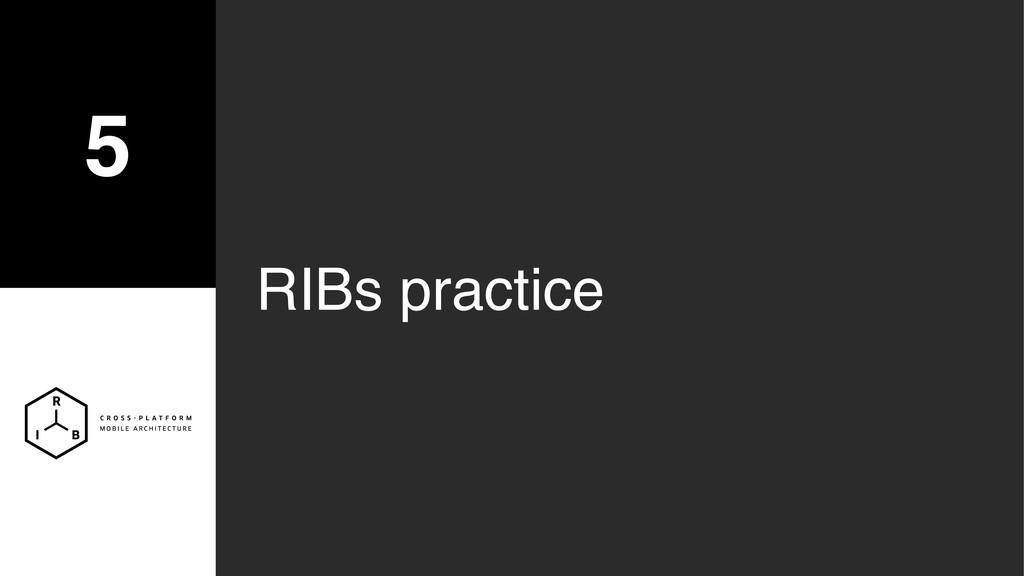 5 RIBs practice