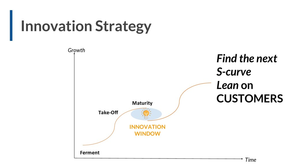 Find the next S-curve Lean on CUSTOMERS Growth ...