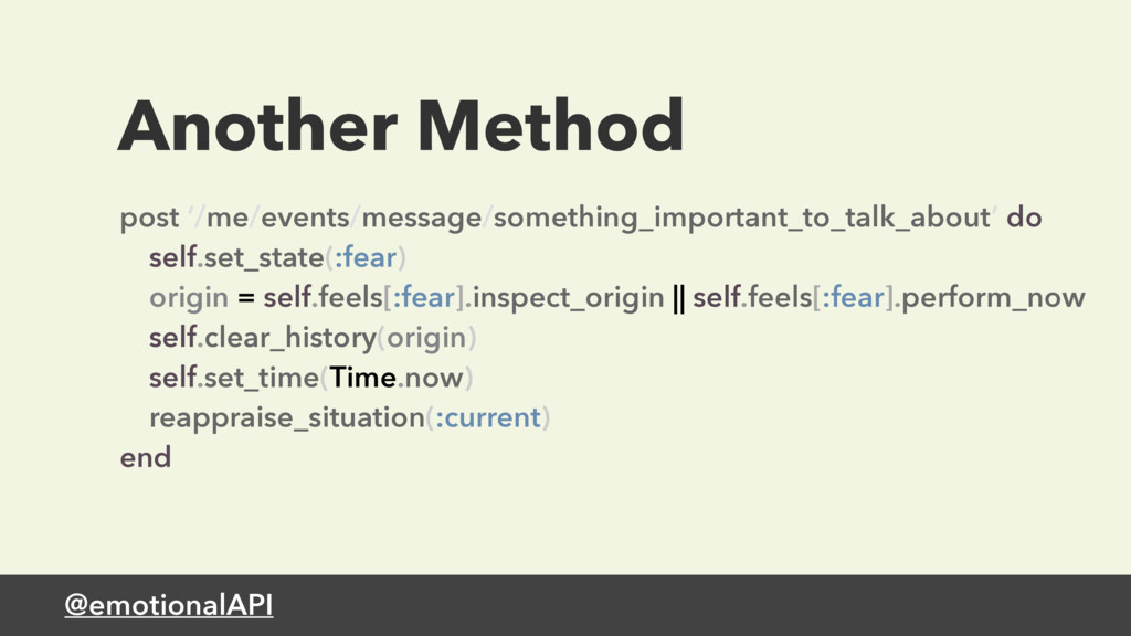 @emotionalAPI Another Method post '/me/events/m...