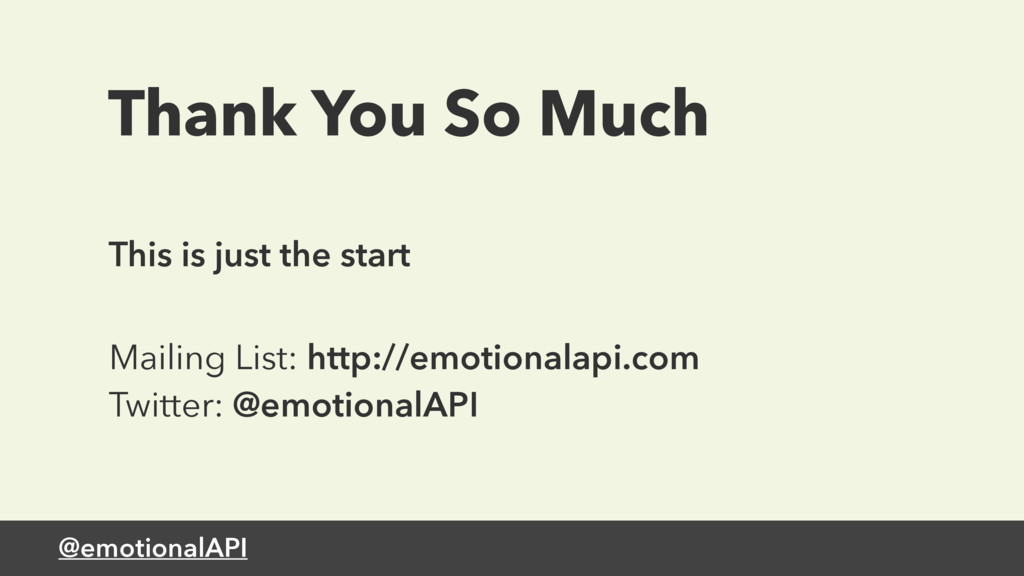 @emotionalAPI Thank You So Much This is just th...