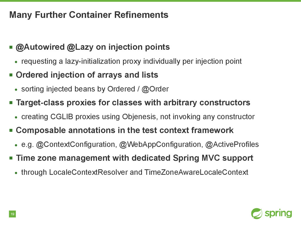 19 Many Further Container Refinements ■ @Autowi...