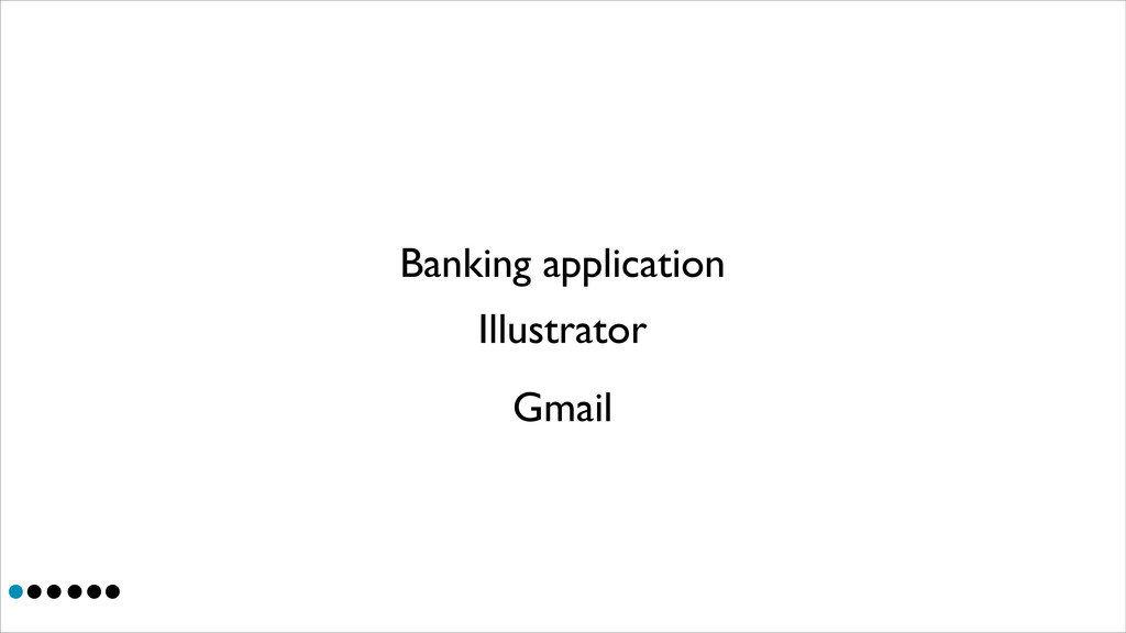 Illustrator Banking application Gmail