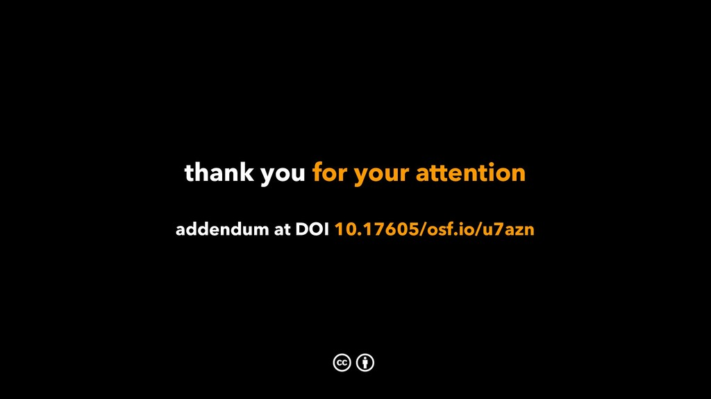 thank you for your attention addendum at DOI 10...