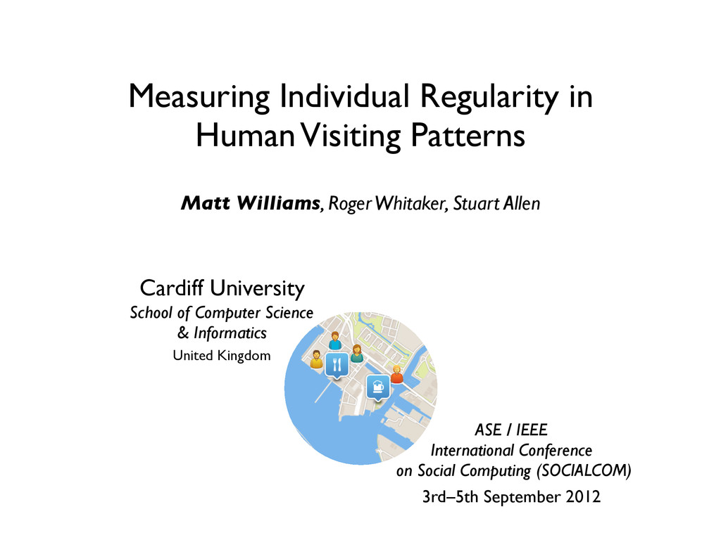 Measuring Individual Regularity in Human Visiti...