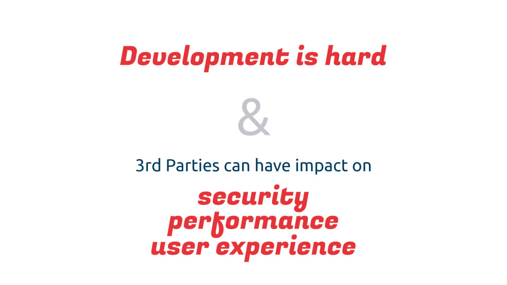 3rd Parties can have impact on security perform...