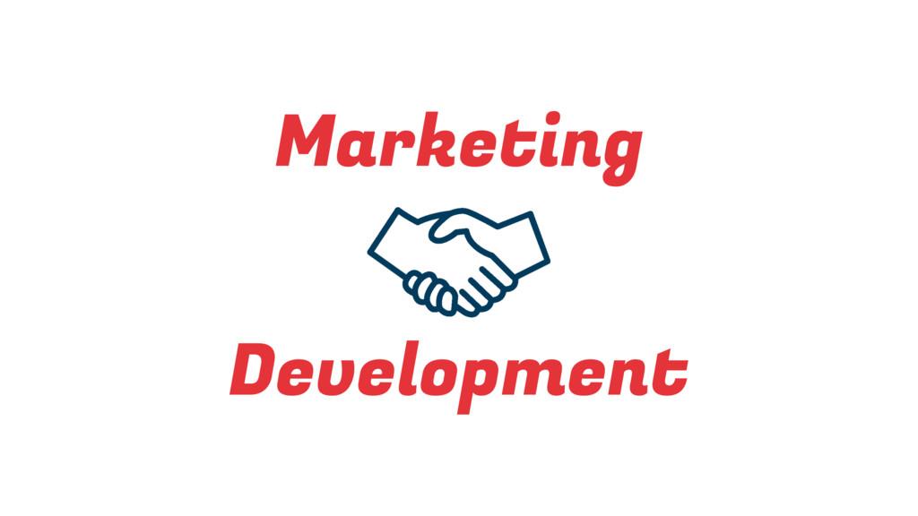 Marketing Development