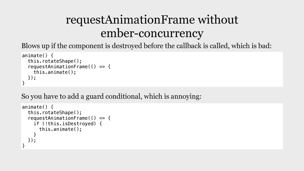 requestAnimationFrame without ember-concurrency...